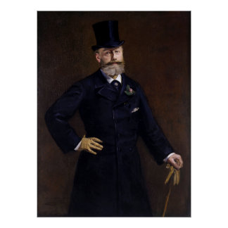 Antonin Proust by Edouard Manet Poster