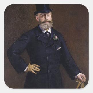 Antonin Proust de Eduardo Manet Colcomanias Cuadradases