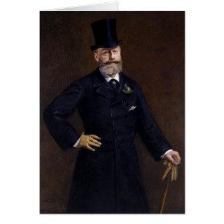 Antonin Proust de Eduardo Manet Tarjeta De Felicitación