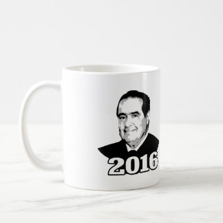 ANTONIN SCALIA 2016 CANDIDATE COFFEE MUG