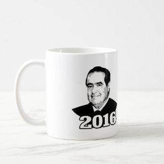 ANTONIN SCALIA 2016 CANDIDATE COFFEE MUG