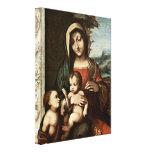 Antonio Allegri da Correggio - Madonna Gallery Wrap Canvas