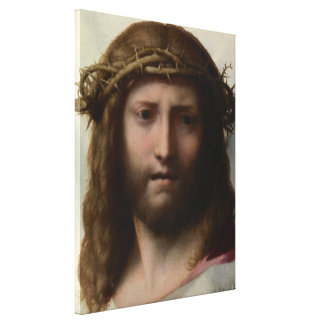 Antonio DA Correggio - cabeza de Cristo Impresiones En Lienzo Estiradas