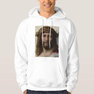 Antonio da Correggio - Head of Christ Sweatshirts