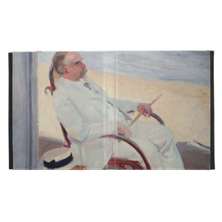 Antonio García en la playa - Joaquín Sorolla