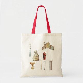Antonio Gaudi. Barcelona. Spain. Architectural Budget Tote Bag