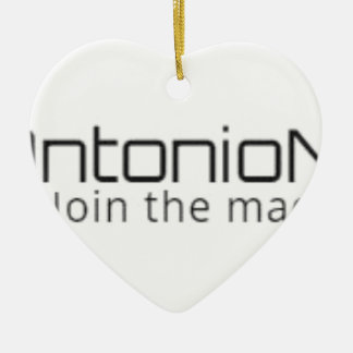 Antonio News - Join The Madness - Items Ceramic Ornament