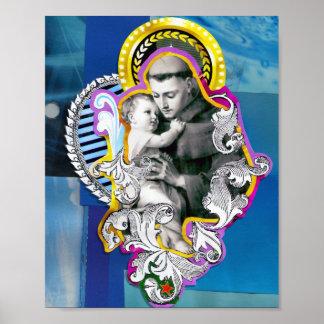 Antonio saint (Anthony of Padua) Poster