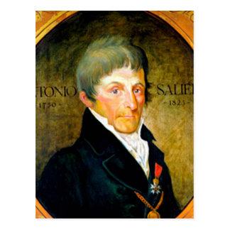 ANTONIO SALIERI - compositor de la ópera Tarjetas Postales