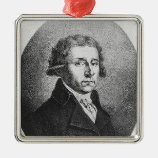 Antonio Salieri Metal Ornament
