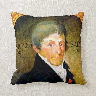 ANTONIO SALIERI wrongfully slandered by AMADEUS Throw Pillow