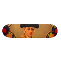 Antonio Sweet Valencia Oranges Skateboard Deck