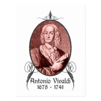 Antonio Vivaldi Postcard