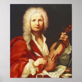 Antonio Vivaldi Póster