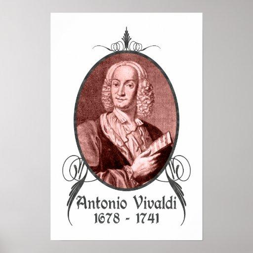 Antonio Vivaldi Poster