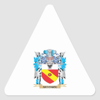 Antoniou Coat Of Arms Sticker