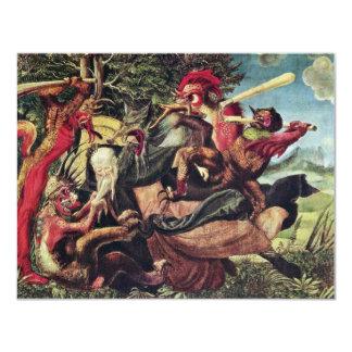 Antonius Altar Left Wing Outside: Demons Tormentin Custom Announcement