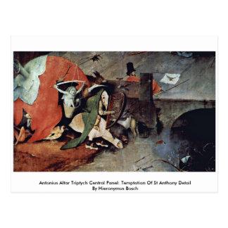 Antonius Altar Triptych Postcard