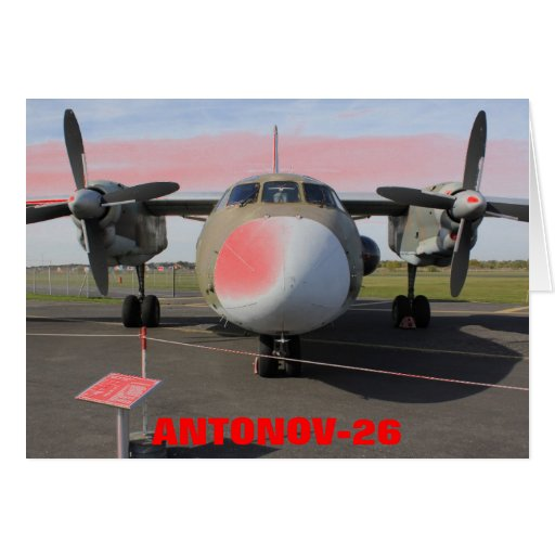 ANTONOV 26T CARD