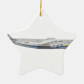 "Antonov  AN-225 NATO: ""Cossack"" Ceramic Ornament"