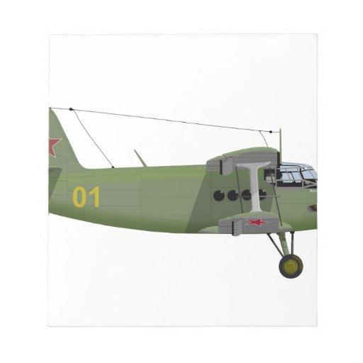 Antonov AN-2 Annie 412412 Memo Pads