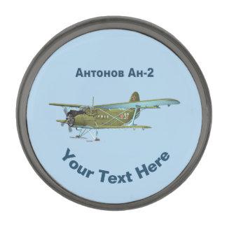 Antonov An-2 Gunmetal Finish Lapel Pin