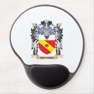 Antonov Coat of Arms - Family Crest Gel Mouse Pad