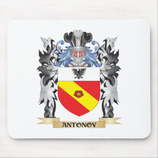Antonov Coat of Arms - Family Crest Mouse Pad