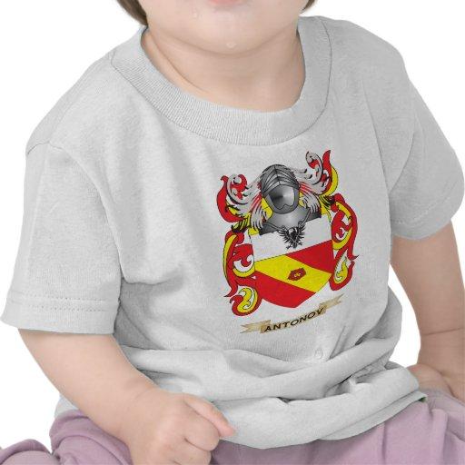 Antonov Coat of Arms (Family Crest) Tee Shirt
