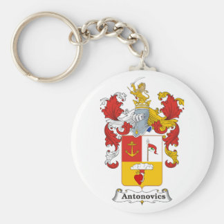 Antonovics Family Hungarian Coat of Arms Keychain