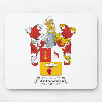Antonovics Family Hungarian Coat of Arms Mouse Pad