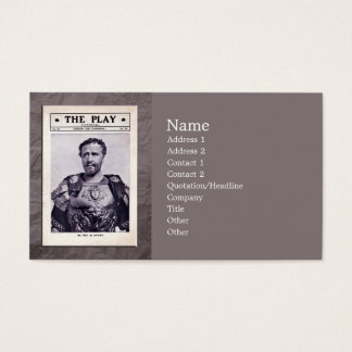Antony and Cleopatra Business Card