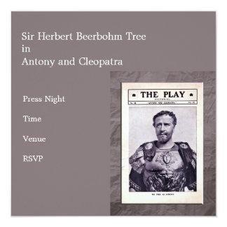 Antony and Cleopatra Invitation