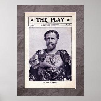 Antony and Cleopatra Print Poster