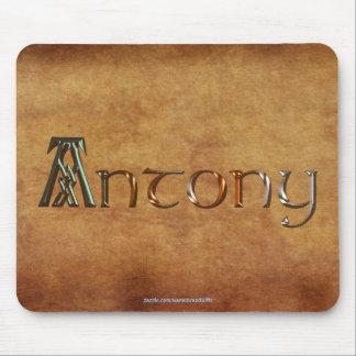 ANTONY Name-Branded Personalised Gift Mousepad