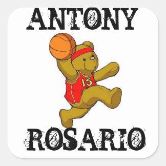 ANTONY ROSARIO SQUARE STICKER