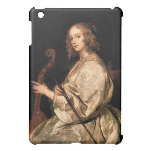 Antoon van Dyck - retrato de la esposa de Maria Ru