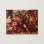 Antoon van Dyck - Samson and Delilah puzzle