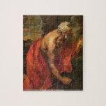 Antoon van Dyck - St Hieronymus puzzle