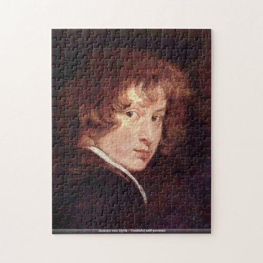 Antoon van Dyck - Youthful self-portrait puzzle