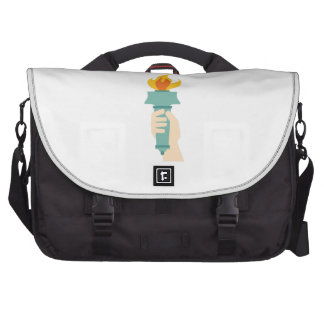Antorcha de la libertad bolsas para portatil
