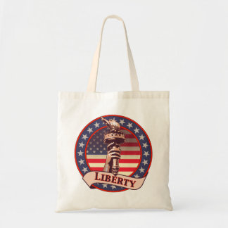 Antorcha de la libertad bolsas de mano