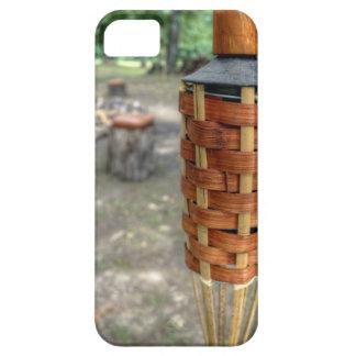 Antorcha de Tiki y fuego del campo iPhone 5 Cobertura