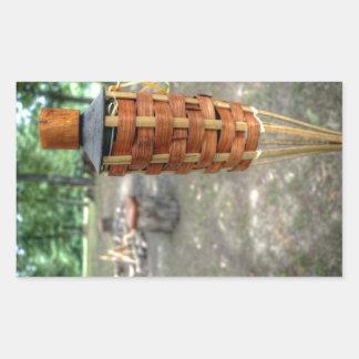 Antorcha de Tiki y fuego del campo Rectangular Altavoces