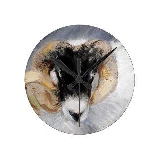 Antrim Coast Road Ram Round Clock