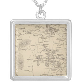 Antrim, Hillsborough Co Silver Plated Necklace