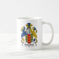 Antrobus Family Crest Mug