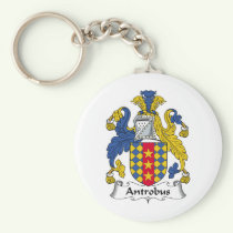 Antrobus Family Crest Keychain