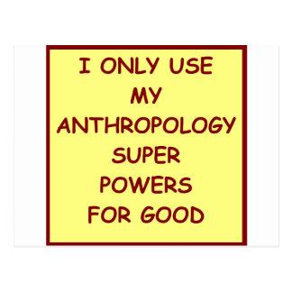 antropología postal