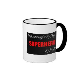 Antropólogo del super héroe taza de café